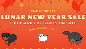 Steam - Lunar New Year Sale