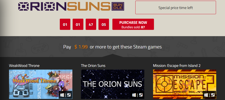 Indie Gala - Orion Suns Bundle