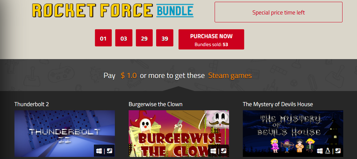 Indie Gala - Rocket Force Bundle