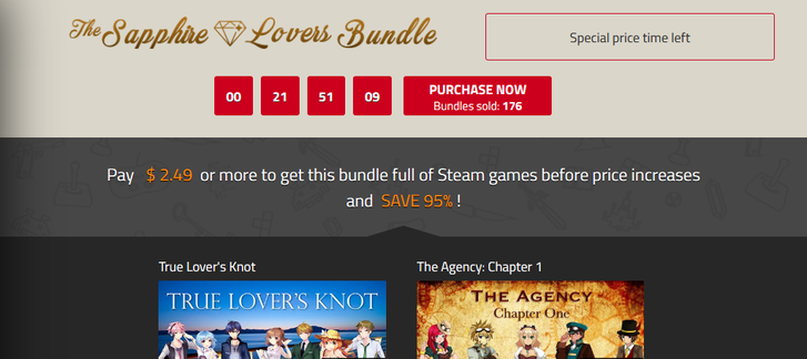 Indie Gala - Saphire Lovers Bundle