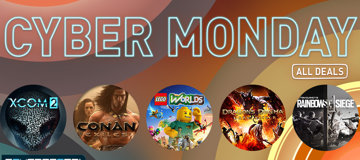 Cyber Monday at GamersGate