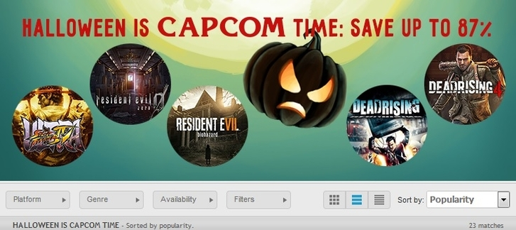 GamersGate - Trick or treat sale!