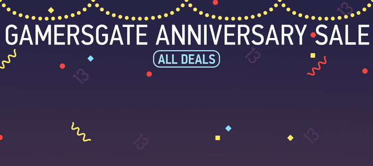 GamersGate 13th Anniversary Sale - Part 2