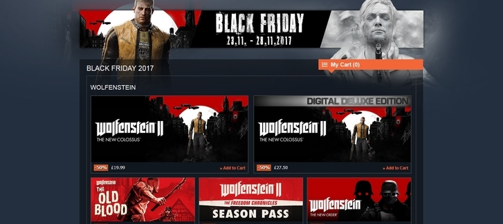 Gamesplanet - Black Friday 2017 Sale