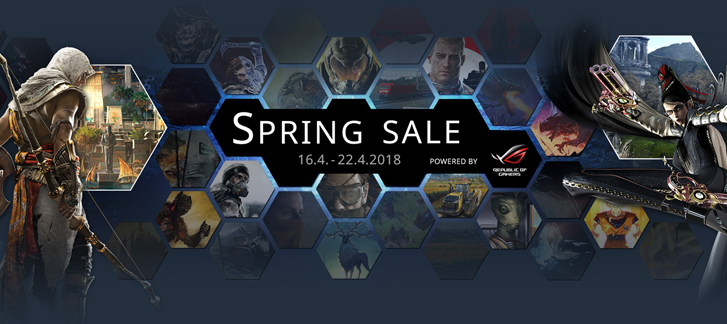 Gamesplanet - Spring Sale 2018: 24h Flash Deals (1)