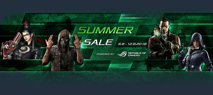 Gamesplanet - Summer Sale 2018 (Day 6)