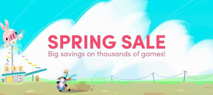 The Humble Store - Spring Sale 2017: 2K, Bandai Namco, Kalypso, THQNordic, Warner Bros games