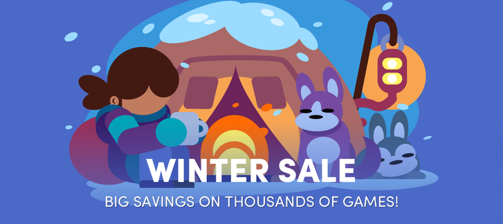 The Humble Store - Winter Sale 2018 #1 (Activision, Bethesda, R*, Witcher games)