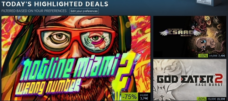 Steam Winter Sale 2016 - Highlighted Deals (Day 9)