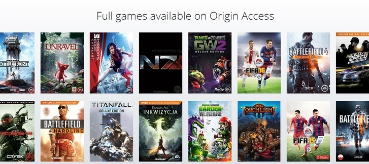 Origin Access - try FREE for 7 days!