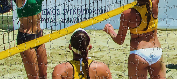 Claim a FREE Steam key for Pixel Puzzles Ultimate - Puzzle Pack: Beach Volleyball